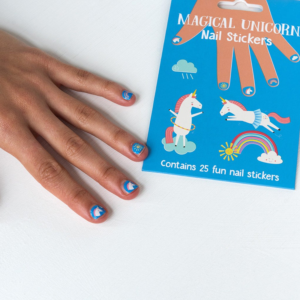 Magical Unicorn Nail Stickers
