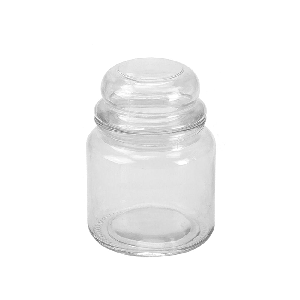 Retro Glass Sweetie Jar Medium