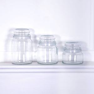 Retro Glass Sweetie Jar Small