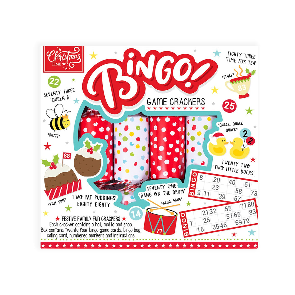 Click to view product details and reviews for Bingo Game Crackers X6.