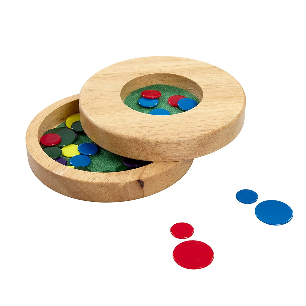 Travel Tiddlywinks Game