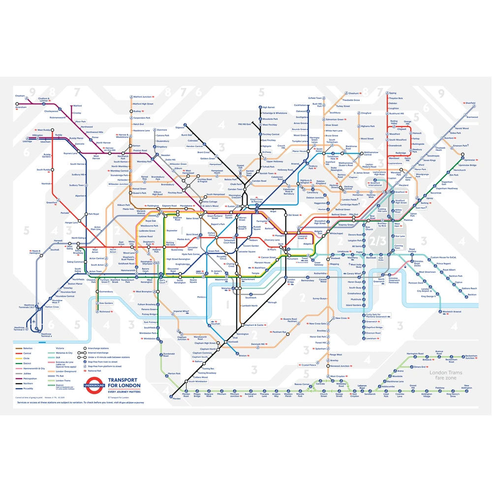 London Underground Jigsaw Puzzle (250 Piece)