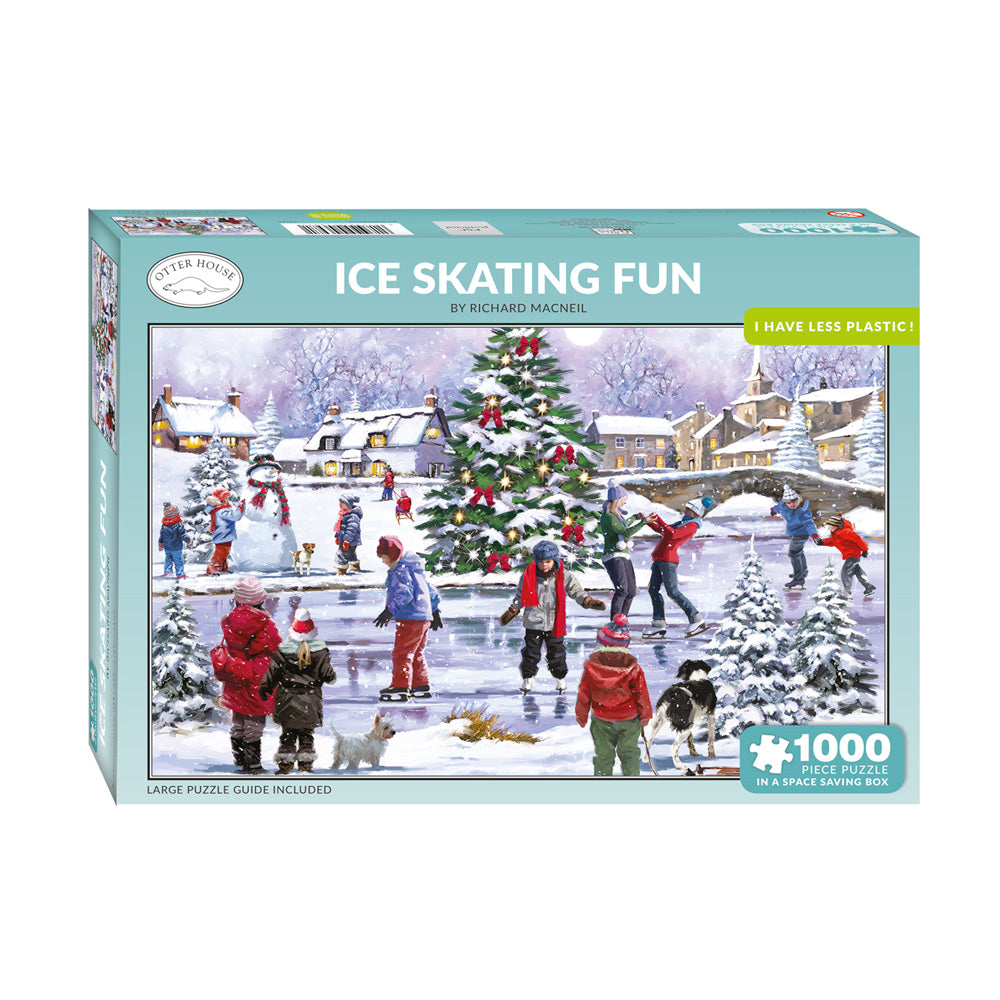 Ice Skating Fun Jigsaw Puzzle