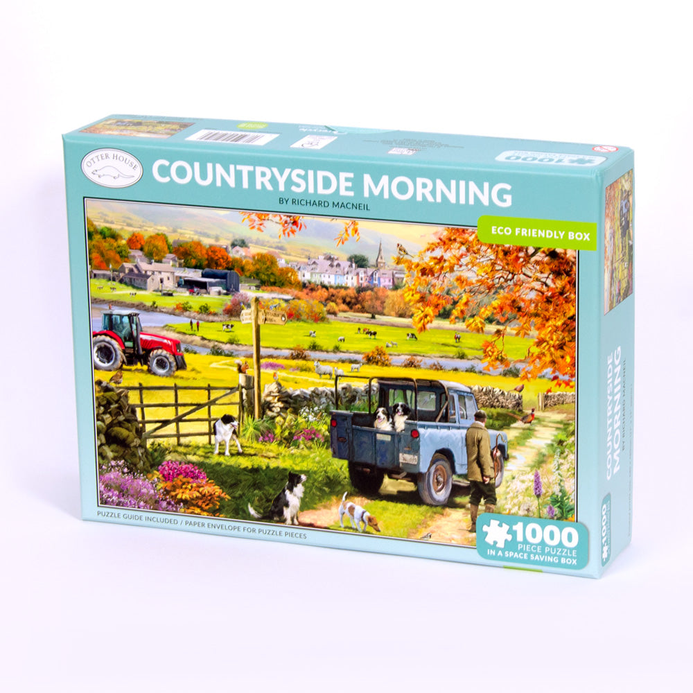 Countryside Morning Jigsaw Puzzle