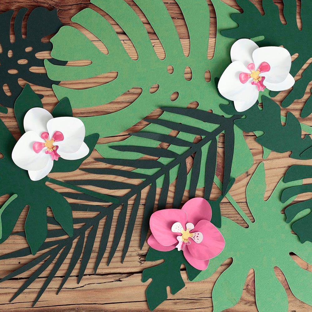 Aloha Orchid Decorations (x6)