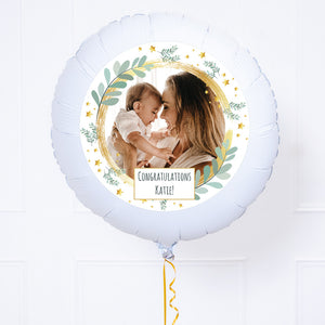 Personalised Photo Balloon – Botanical