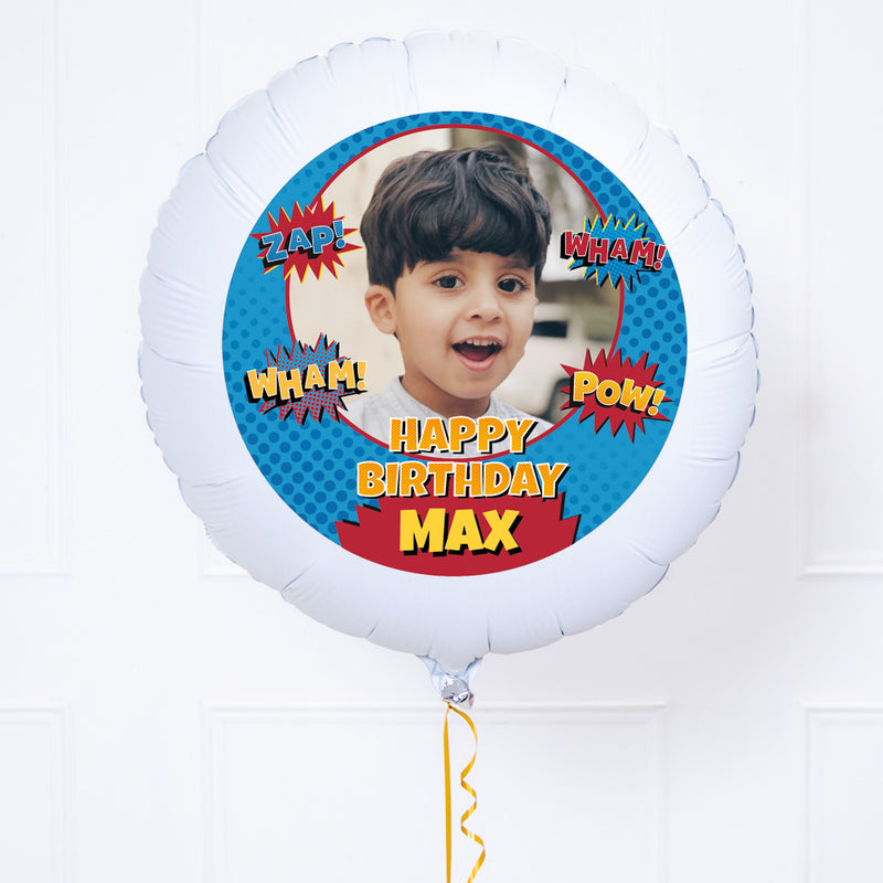 Personalised Photo Balloon – Superhero