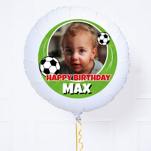 Personalised Photo Balloon – Football Birthday