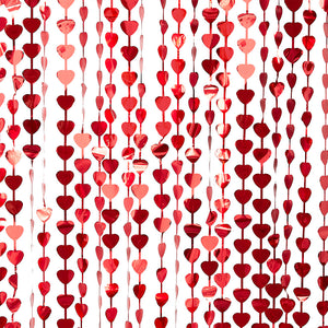 Red Heart Backdrop