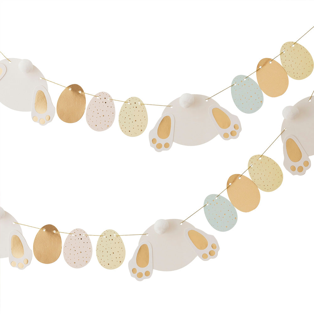 Bunny & Easter Eggs Garland (2.5m)