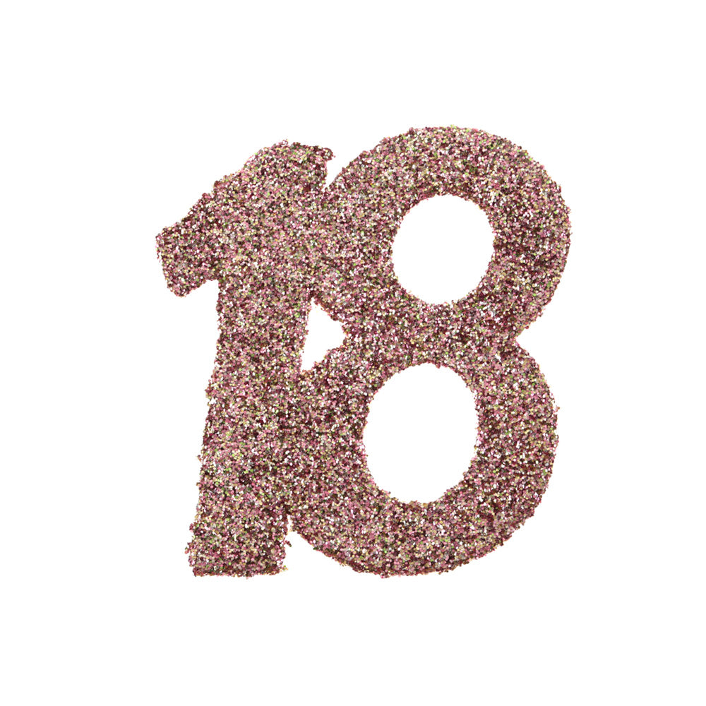 18th Birthday Rose Gold Table Confetti