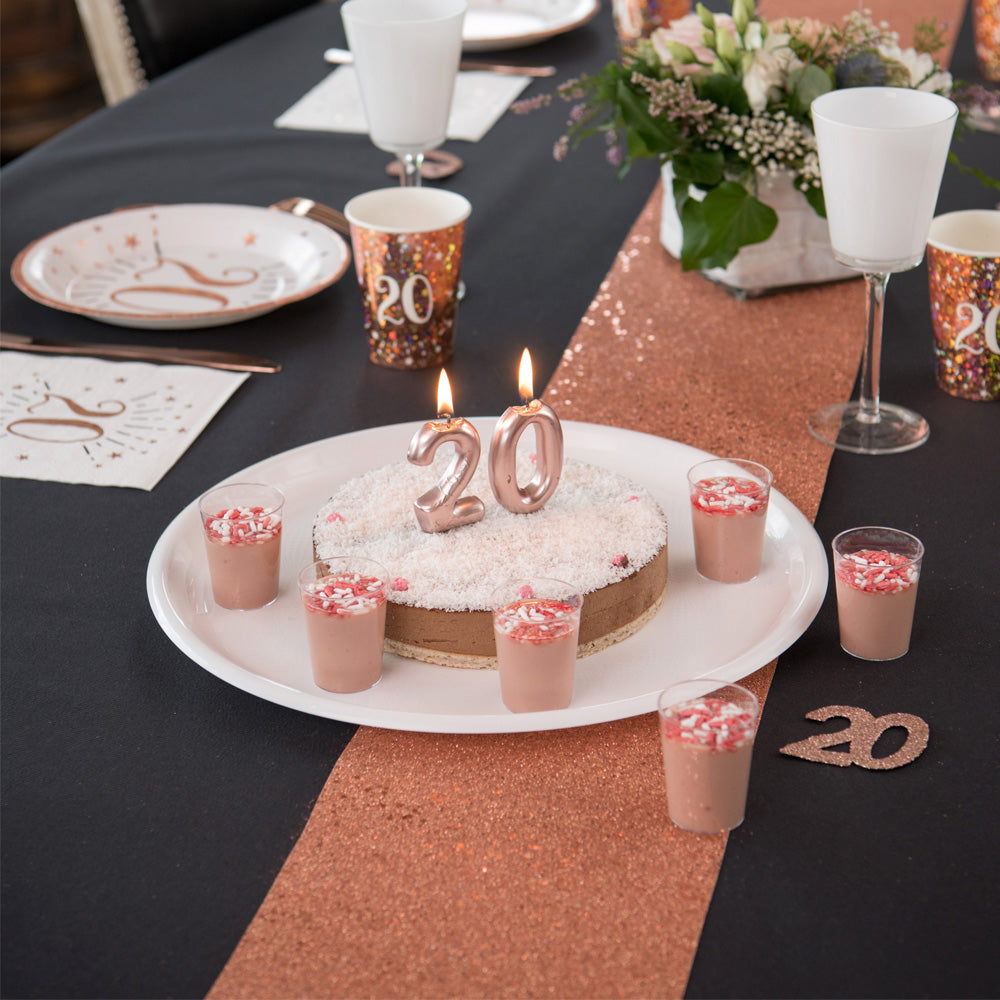 Table Runner - Rose Gold