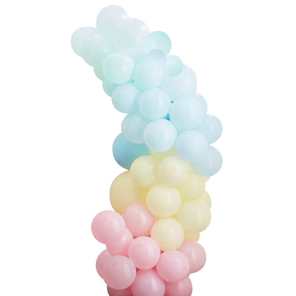 Balloon Arch - Pale Pastel