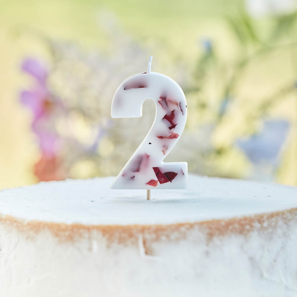 Pressed Petals Number 2 Candle