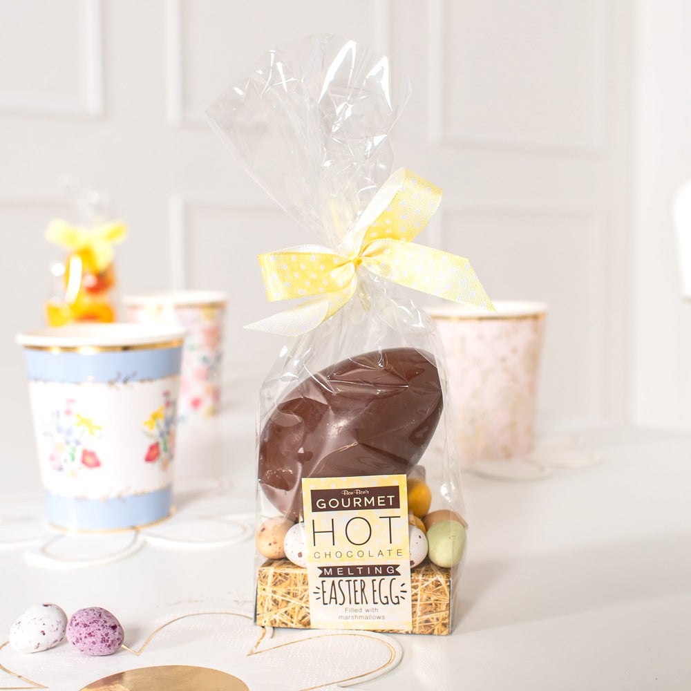 Hot Chocolate Egg Filled with Mallows