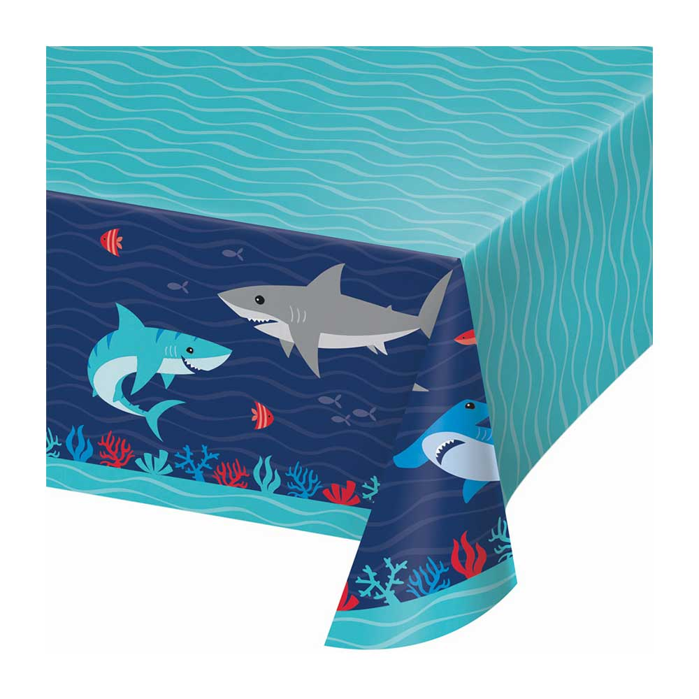 Shark Party Paper Tablecover