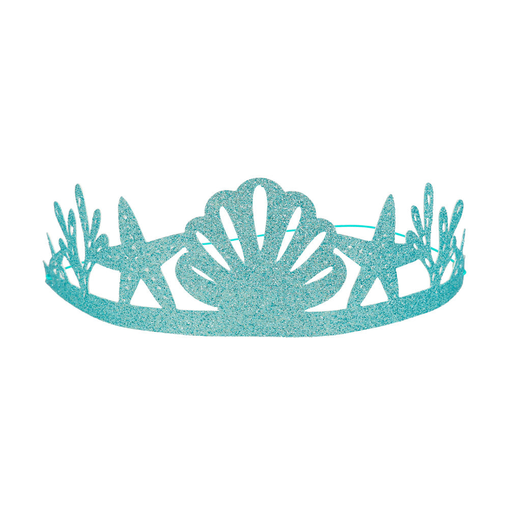 Mystical Mermaids Party Crown (x8)