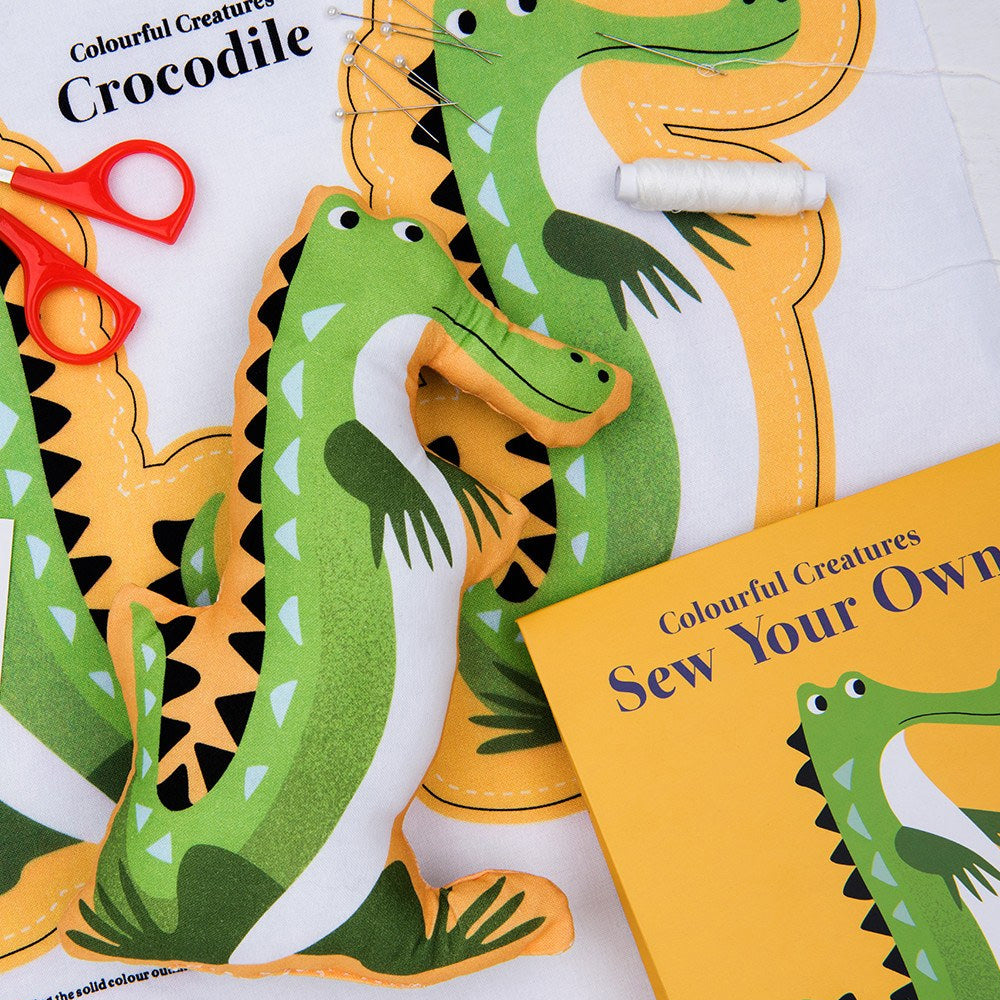 Sew Your Own Harry The Crocodile