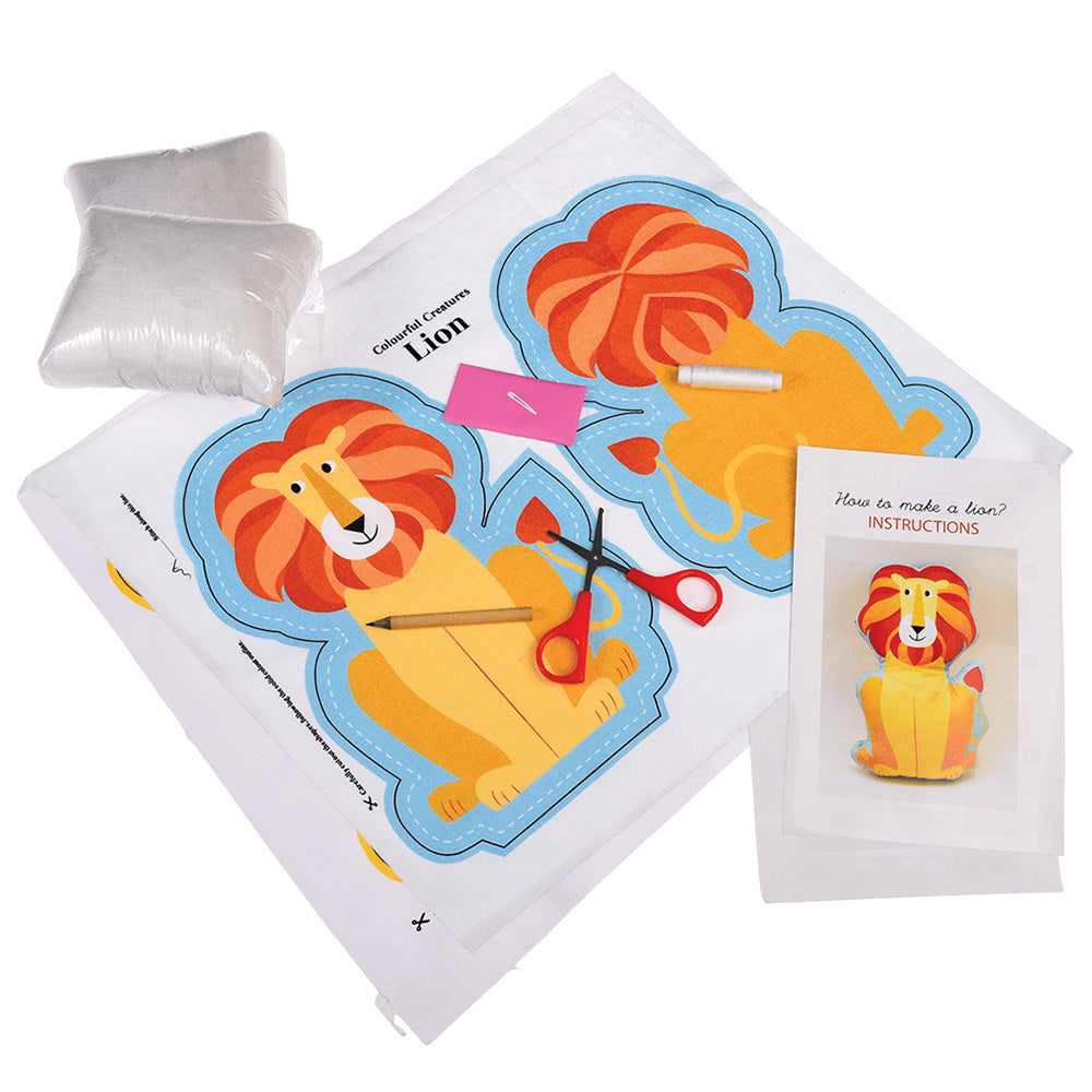 Sew Your Own Charlie The Lion