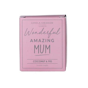 Mum Mini Scented Boxed Candle