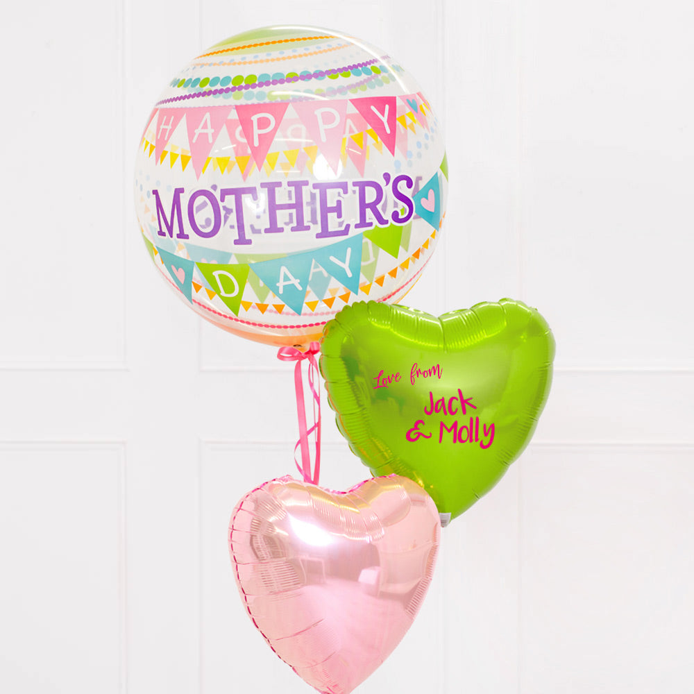Vibrant Mother's Day Balloon Bouquet