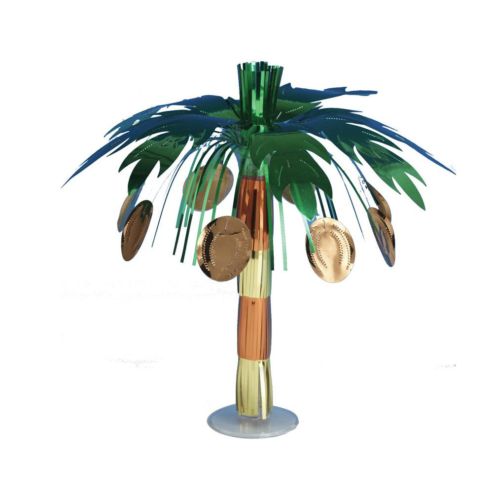 Mini Coconut Tree Foil Centrepiece