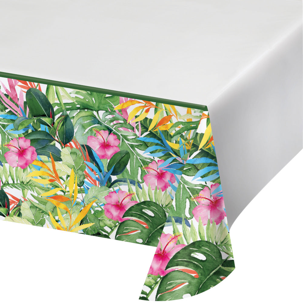 Floral Paradise - Paper Party Table Cover