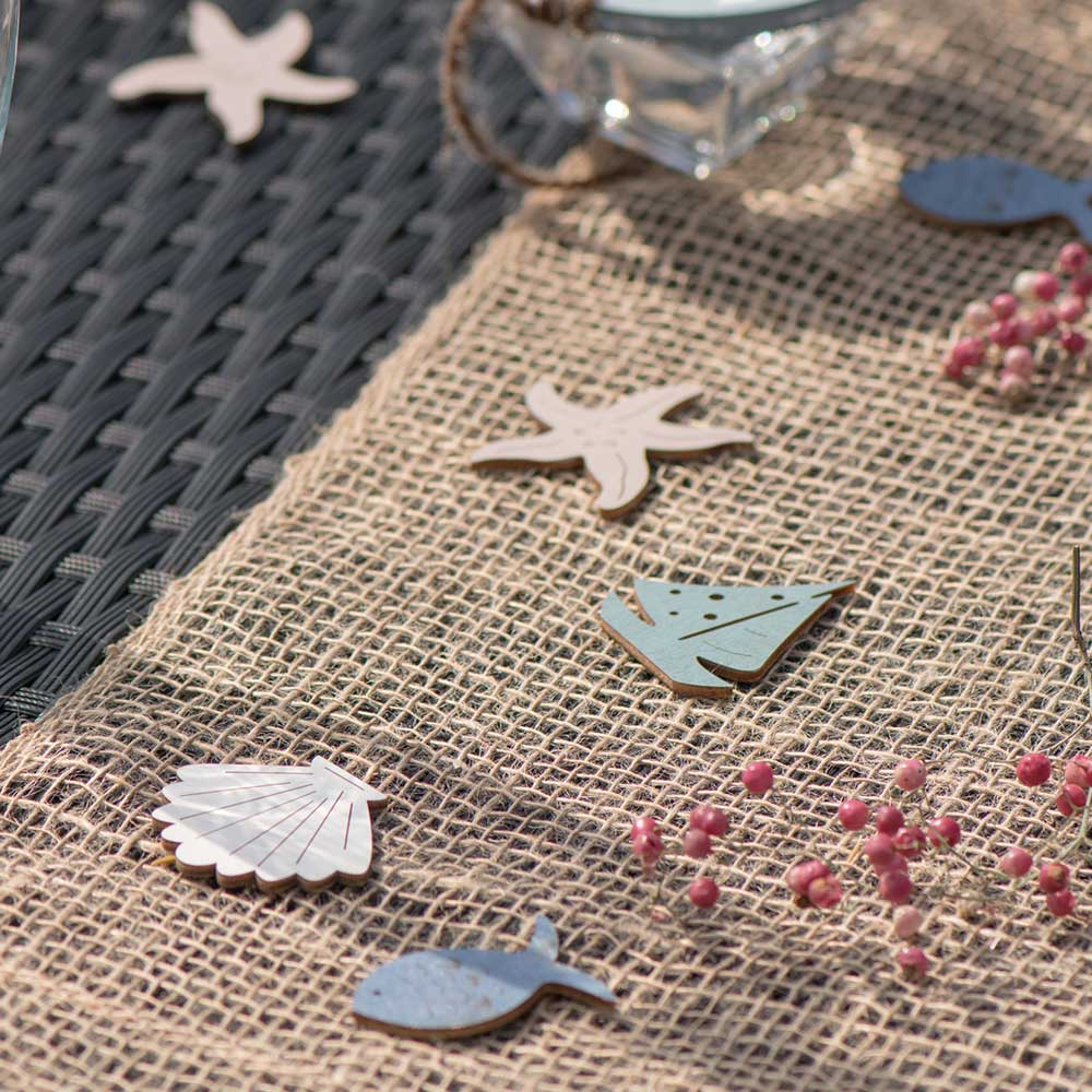 Seaside Wooden Scatter