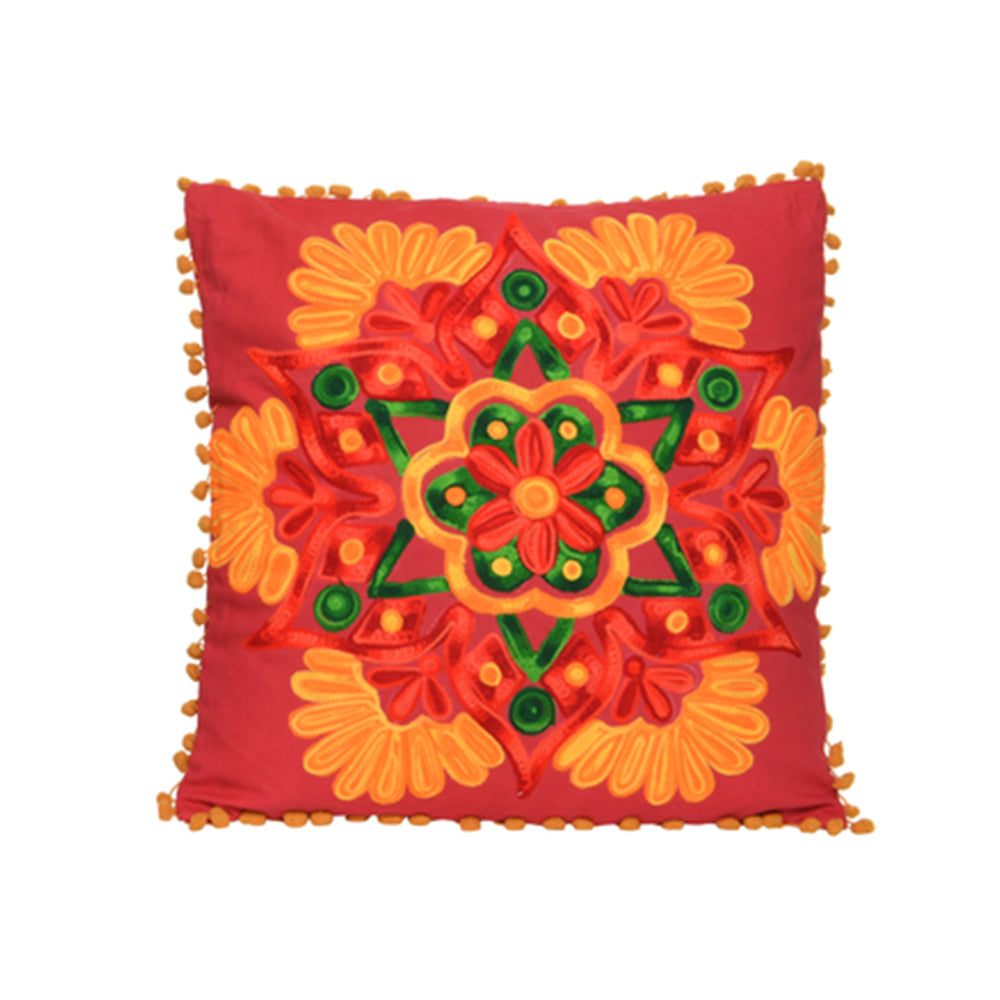 Boho Cushion - Orange
