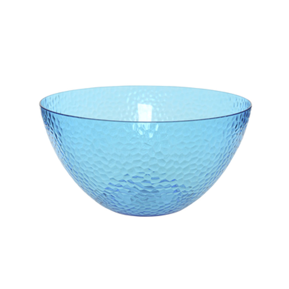 Large Plastic Bowl - Blue