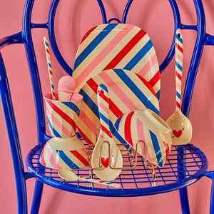 Candy Stripes - Melamine Cup