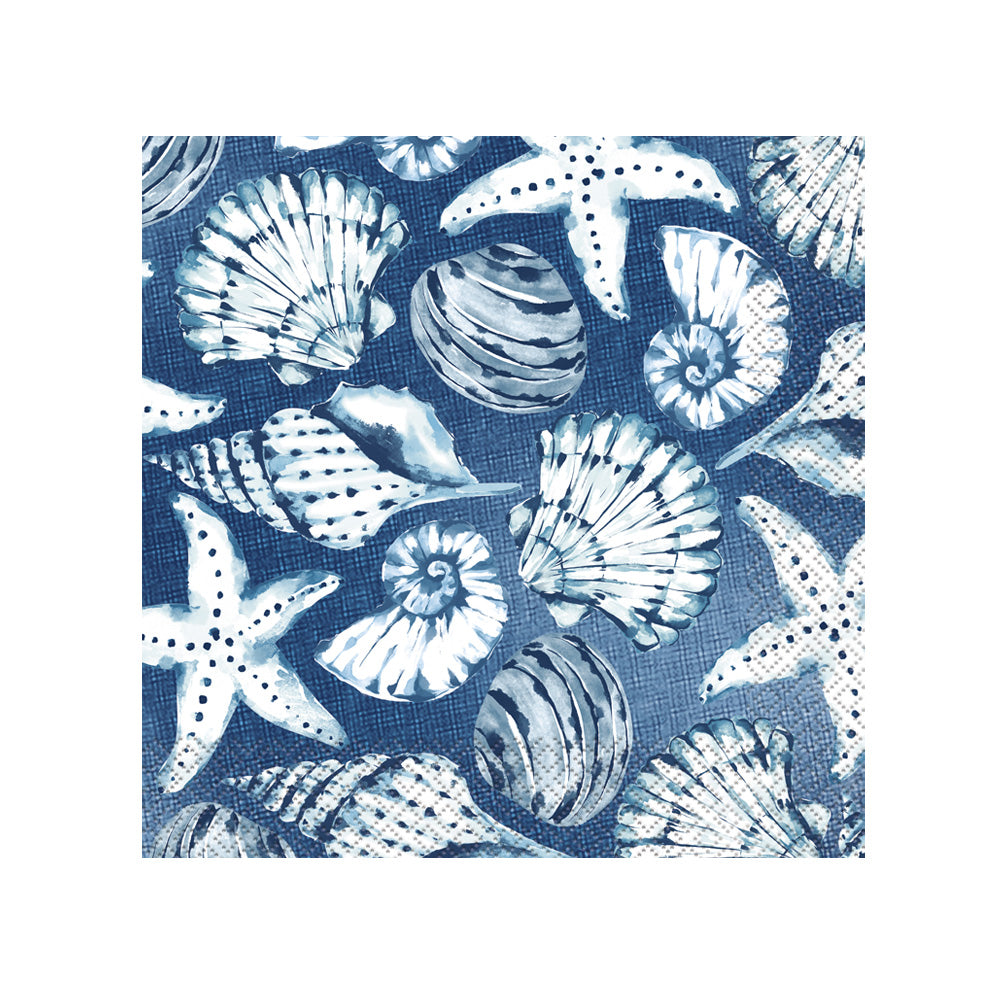 Blue Reef Luncheon Party Napkins (x16)