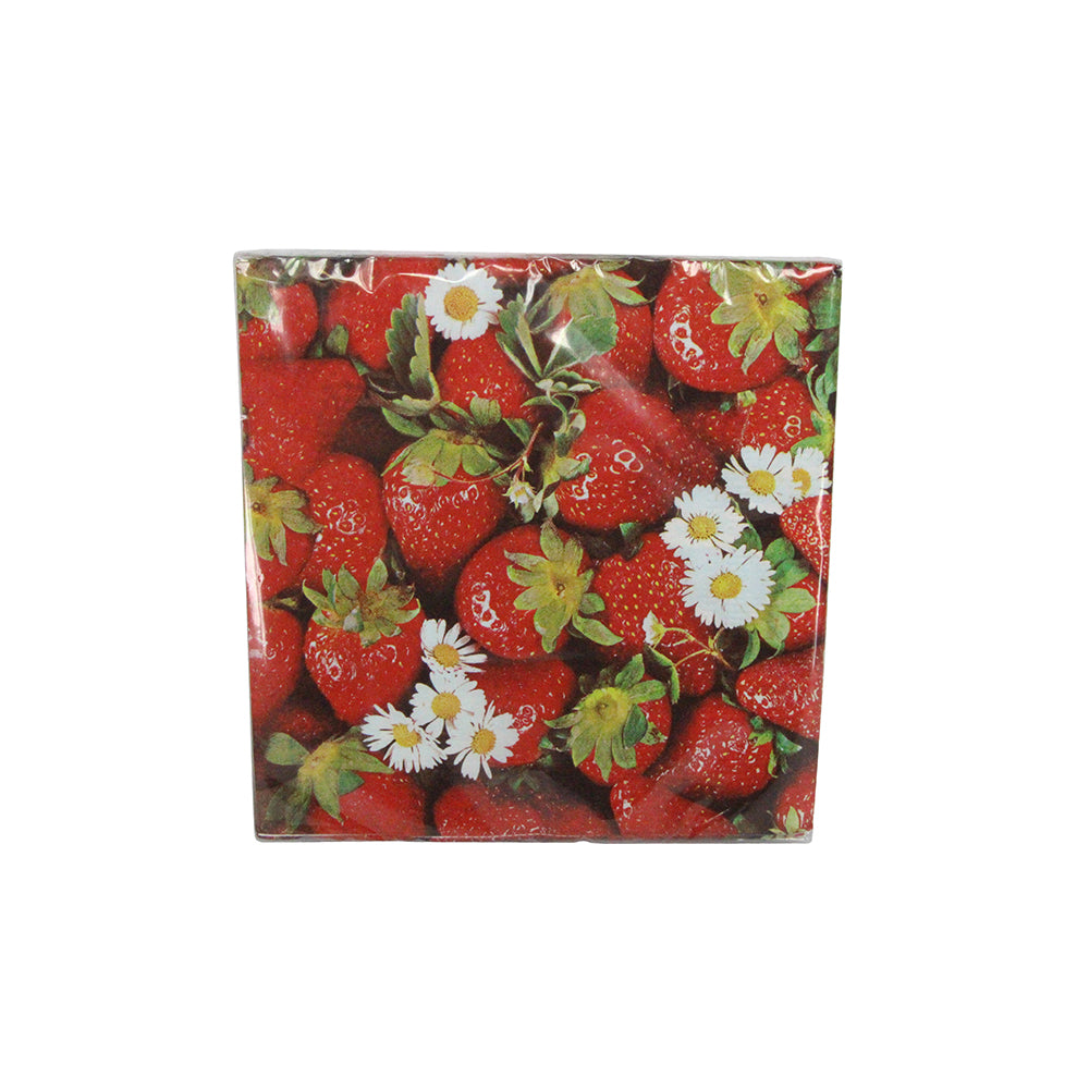 Strawberry Paper Napkins (x20)
