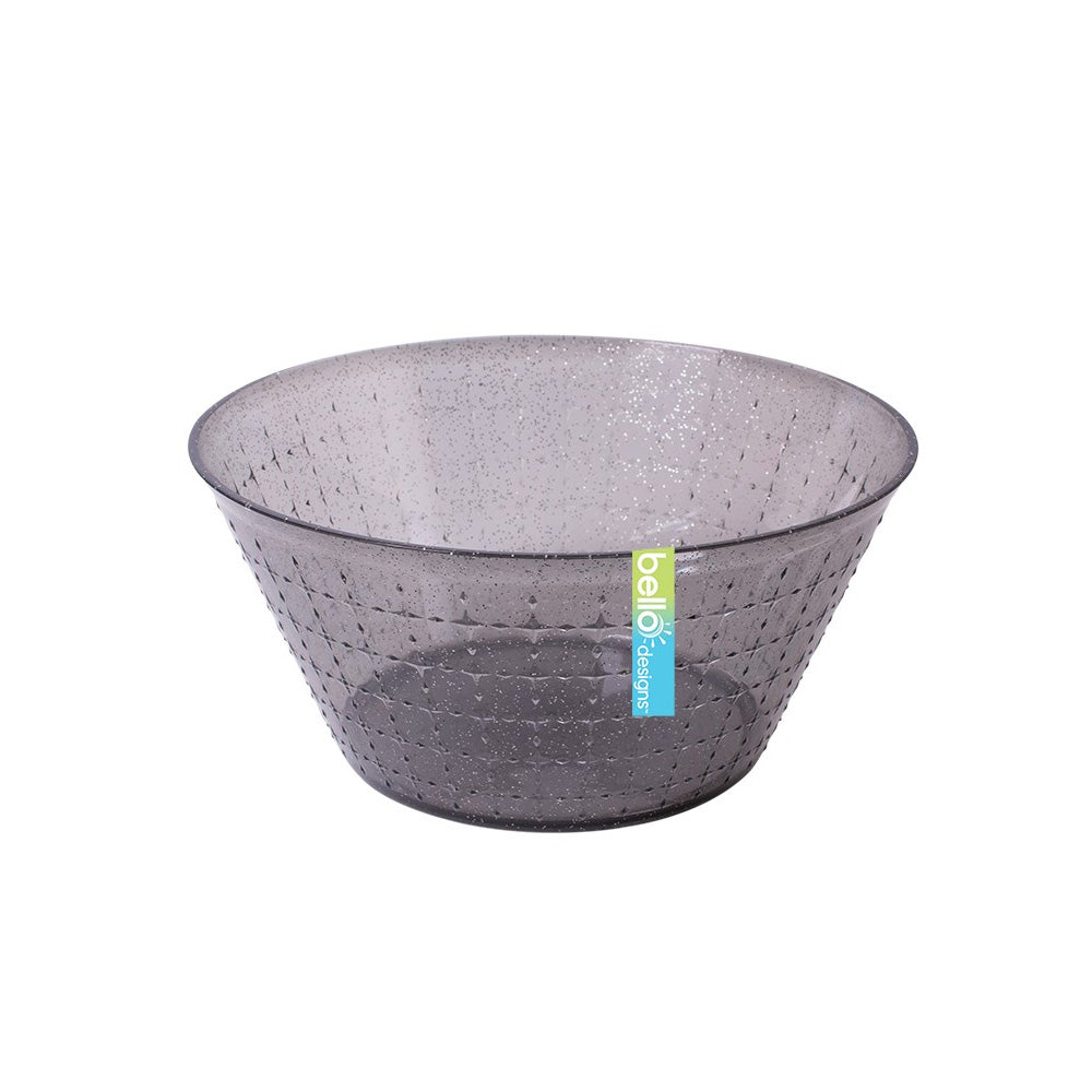 Reusable Grey Glitter Small Bowl
