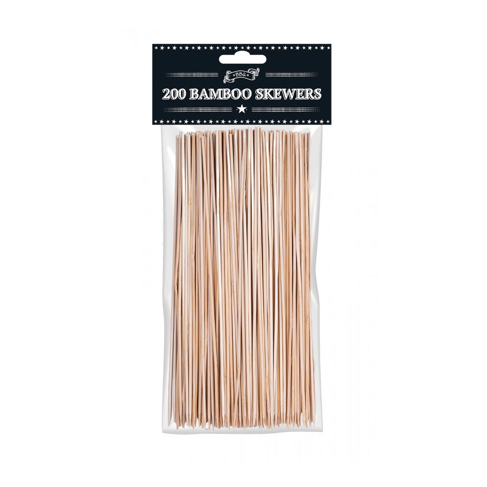 Bamboo BBQ Skewers (x200)