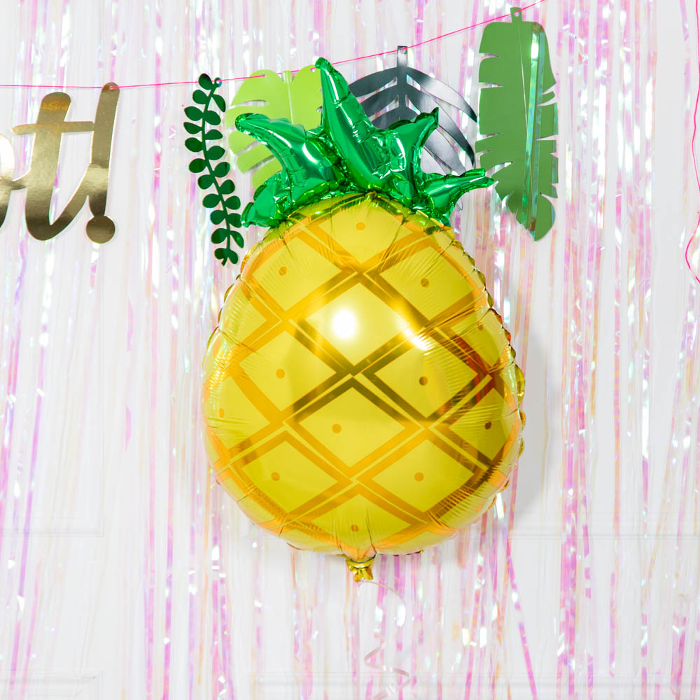 Tropical Pineapple Shape Foil Balloon