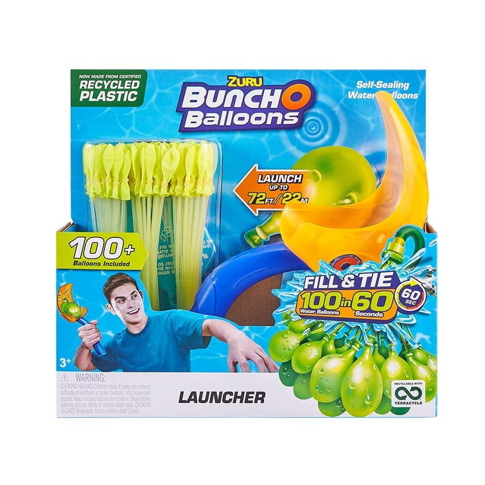 Rapid Fill Water Balloon Bunches and Launcher Set