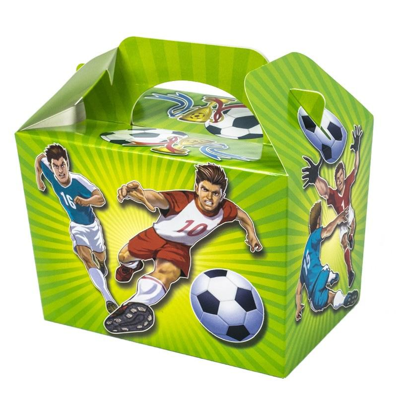 Football Party Boxes (x4)