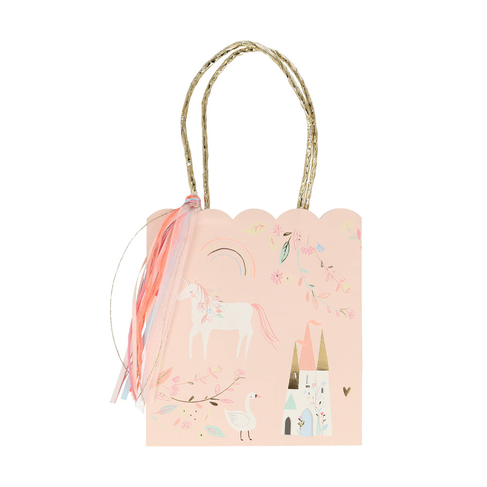 Magical Princess Paper Party Bags (x8)
