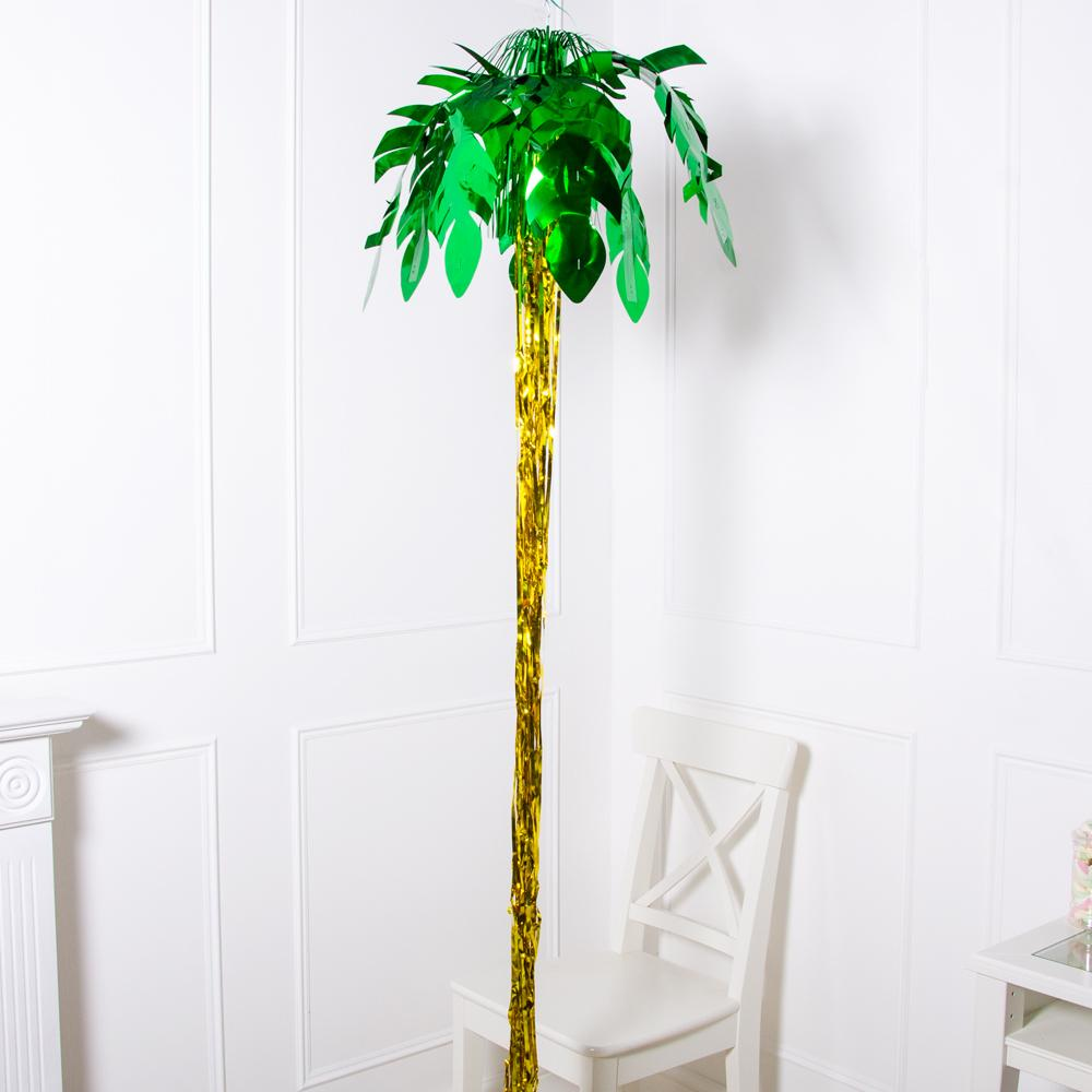 Click to view product details and reviews for 8ft Palm Tree Hanging Foil Party Decoration.