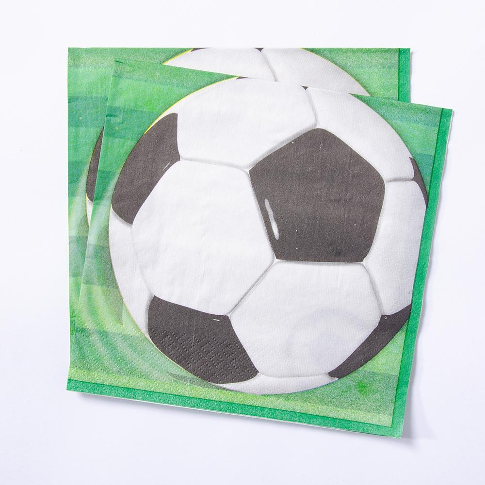 Football Party Napkins (x16)