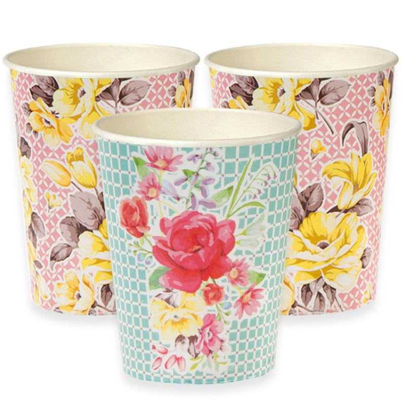 Truly Scrumptious Paper Party Cups (x12)