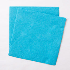 Big Value 2 Ply Paper Napkins Turquoise (x100)