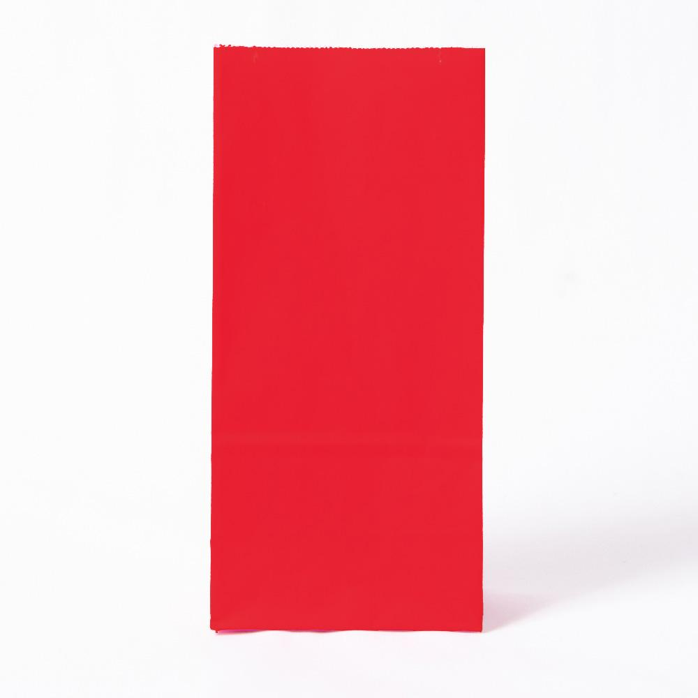 Paper Party Bags Red (x10)