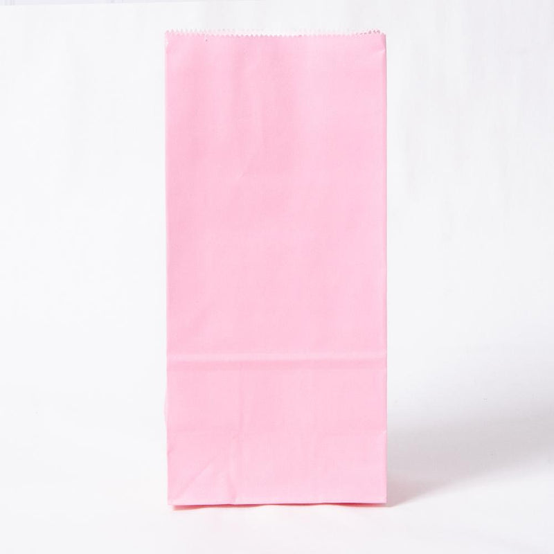 Paper Party Bags Pale Pink (x10)