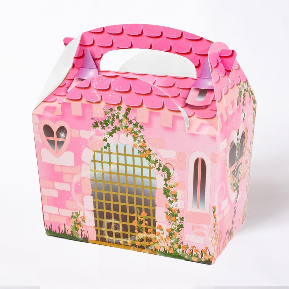 Castle Party Boxes (x4)