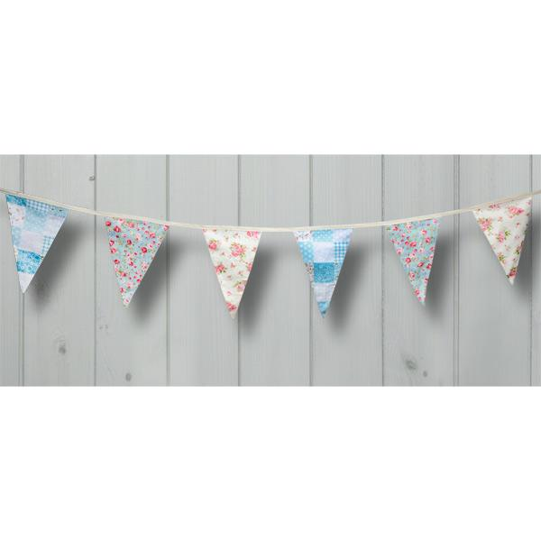 Country Garden Cotton Flag Bunting