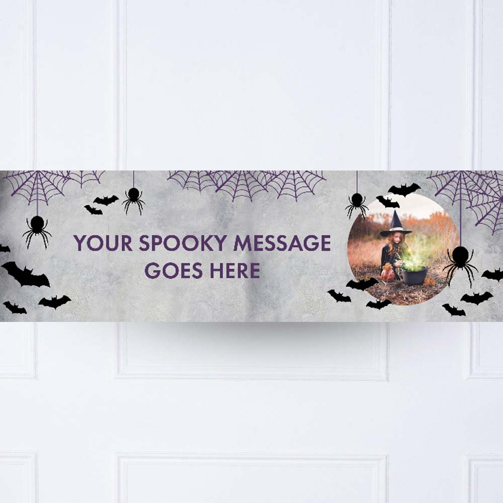 Creep it Real Personalised Party Banner