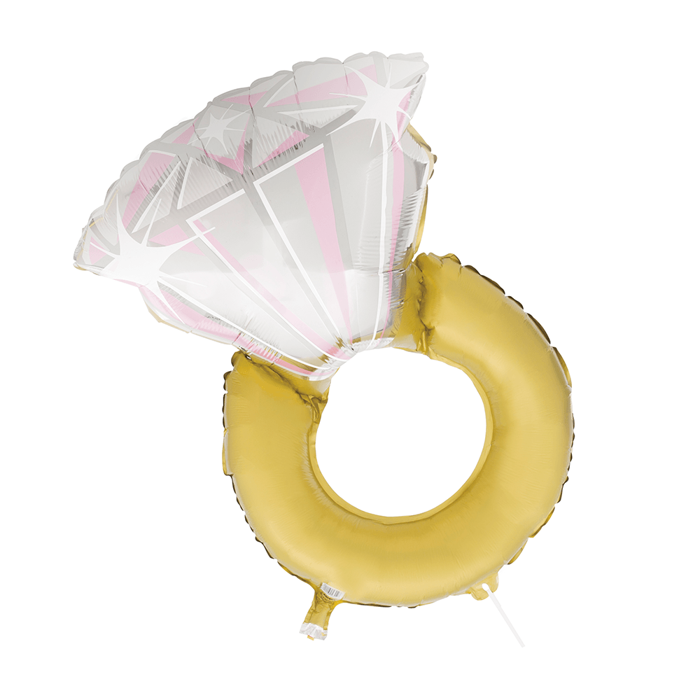 Diamond Ring Giant Floating Balloon 32""