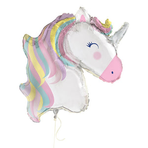 Unicorn Giant Floating Balloon 42""